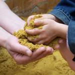 игры рисование песком