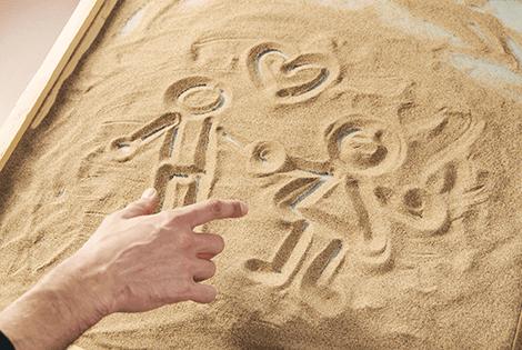 терапия песком для детей
